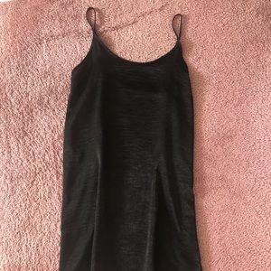 Dresses & Skirts - Black slip dress